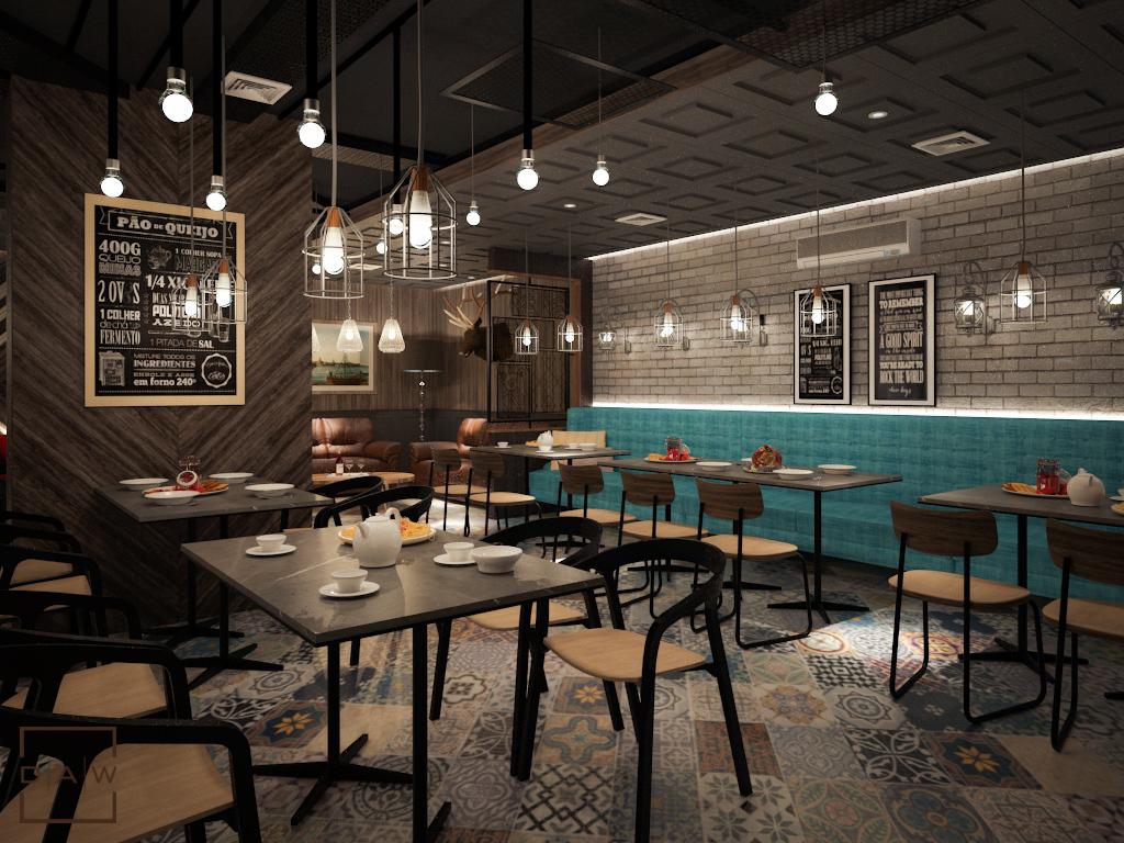 Industrial Vintage Lounge Bar Daw Interior