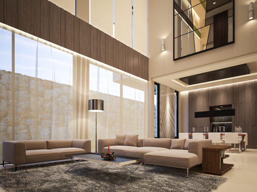 Twin House The Minimalist Luxury Daw Interior